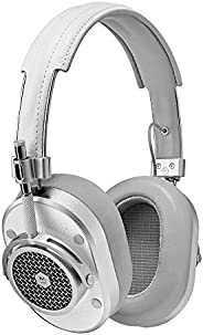 Master & Dynamic MH40 Wired Headphones with Genuine Lambskin Ear Pads, White/Si