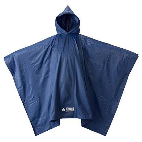 (ロゴス)LOGOS PVC ポンチョ ブルー 85000815