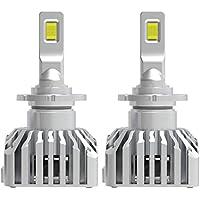 【HIDを超えるLED】BORDAN D2S D2R LED ヘッドライト 新基準車検対応 冷却ファン付け 70W(35W*2)16000LM 6000K ホワイト LUMILEDS ZESチップ(より明るく高輝度 新開発カスタマイズオートグレードLEDチップ搭載 加工なしで純正HIDをLED化 3年保証書付き 2個入 - L11 D4