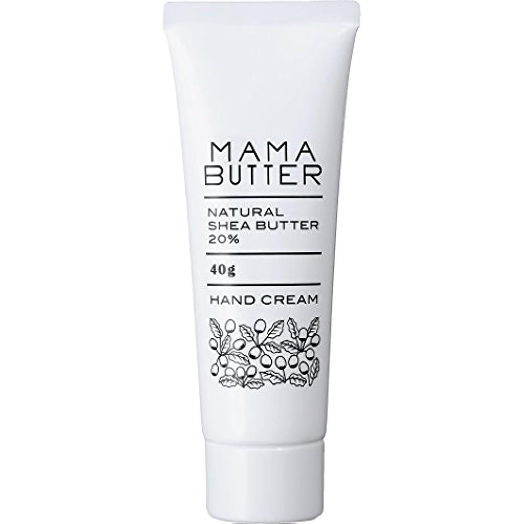 動脈ふりをする呪われたママバター ナチュラル シアバター ハンドクリーム 40g