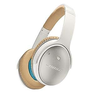 Bose QuietComfort 25 Acoustic Noise Cancelling headphones - Apple devices : ノイズキャンセリングヘッドホン 密閉型/オーバーイヤー/Apple製品対応リモコン・マイク付き ホワイト QuietComfort25 WH【国内正規品】
