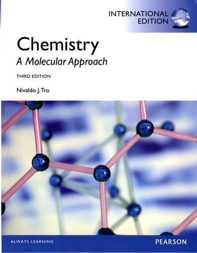 Download Chemistry: A Molecular Approach: International Edition 0321866274