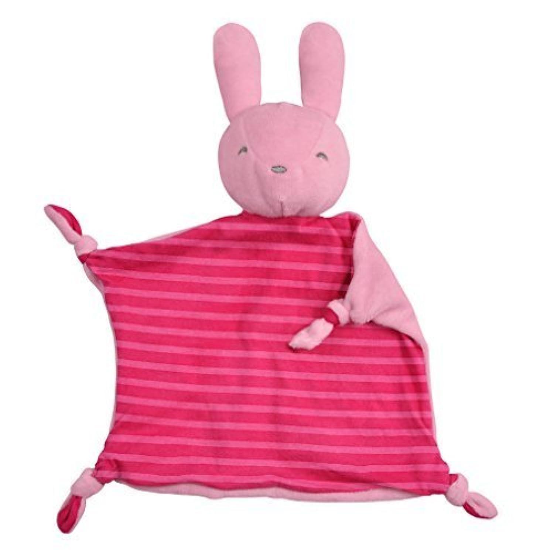 iplay Dream Window Organic Blankie (Animal-Pink Bunny-3mo+) by i play. [並行輸入品]