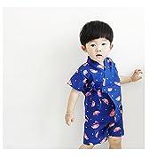 ディゾン(dizoon)春夏 浴衣 甚平 子供服 男女兼用 男の子 綿100% 七五三 5デザイン ...