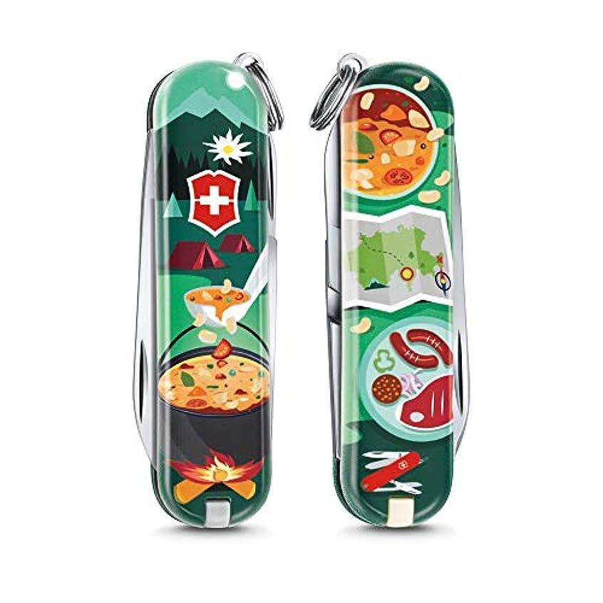 ウィザード拒絶するはっきりしないVICTORINOX(ビクトリノックス) クラシック リミテッド エディション 2019E Swiss Mountain Dinner (スイス マウンテン ディナー) 保証書付【日本正規品】 0.6223.L1907