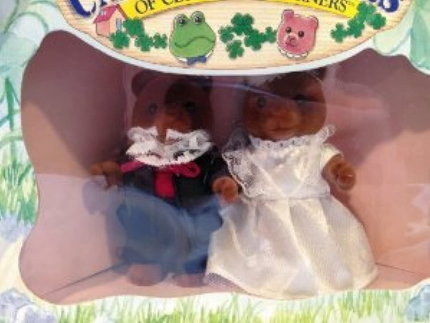 Calico Critters Marmalade Bear Wedding Set Retired 1993 #2835(並行輸入)