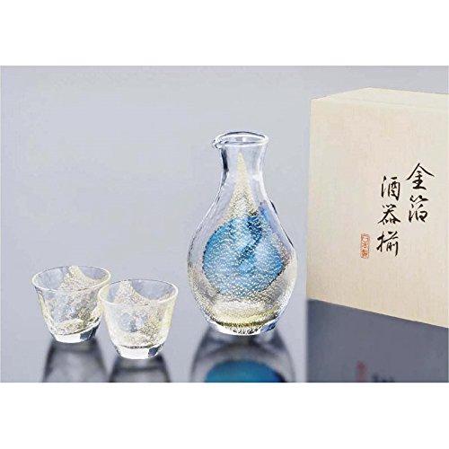 酒グラスコレクション 冷酒セット(金箔) 【日本製 冷酒器 冷酒グラス 徳利...