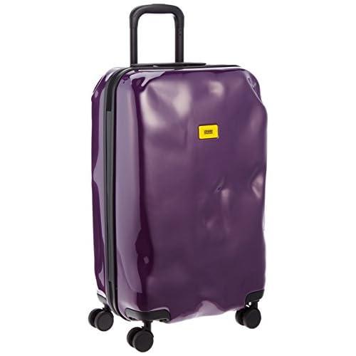 [クラッシュバゲッジ] CRASH BAGGAGE 取扱い注意不要スーツケースBRIGHT 無料預入れ受託ミディアムサイズTSAロック搭載 CB112 23 (PURPLE ELECTRIC)
