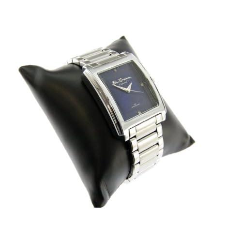 Ben Sherman ベンシャーマン 腕時計 ブルーフェイス アナログ スクエア メタルベルト ウォッチ r315