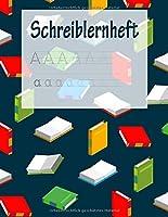 Schreiblernheft: ABC Vorbereitung | Alphabet Druckbuchstaben lernen | Grundschule und Vorschule | Schreiblernheft | Buecher