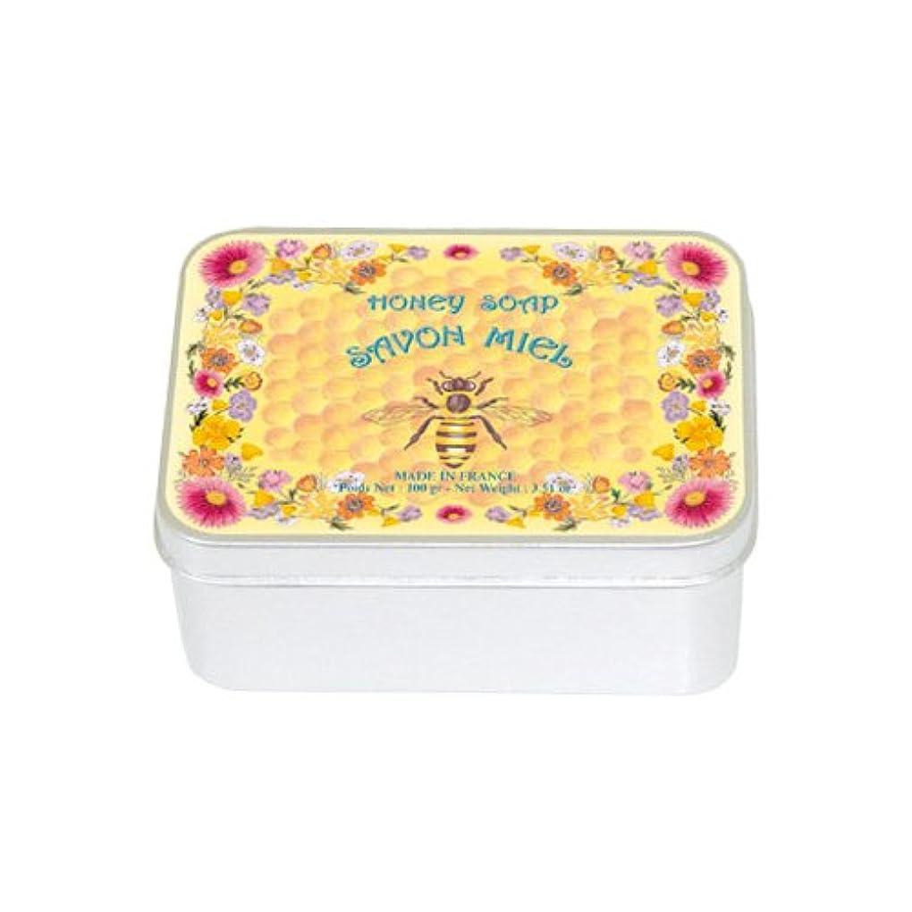 メドレー苦味安定しましたルブランソープ メタルボックス(ハチミツの香り)石鹸