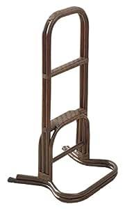 山善(YAMAZEN) 籐(ラタン)製 立ち上がり補助手すり ブラウン TF47-162(BR)