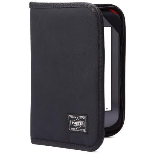 【Kindle, Kindle Paperwhite カバー】 アマゾン限定 PORTER(ポーター) Zip Around Cover  ブラック