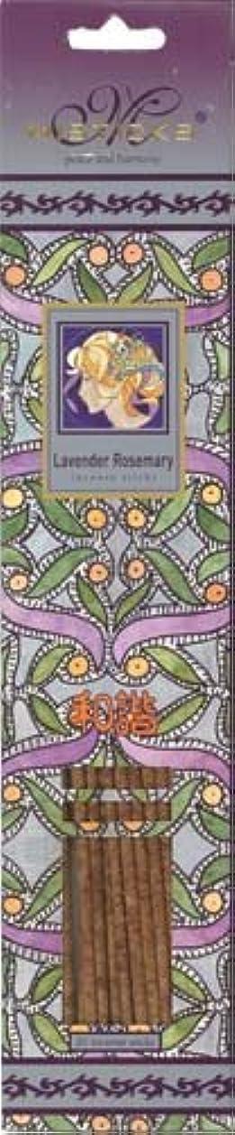 従順ベット機動Misticks ミスティックス Lavender Rosemary ラベンダーローズマリー お香 20本入
