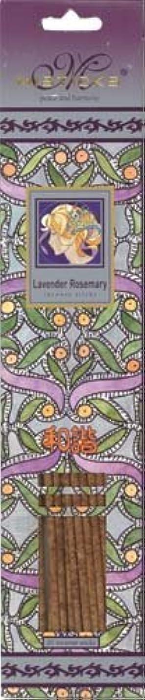 けん引アルコーブ副詞Misticks ミスティックス Lavender Rosemary ラベンダーローズマリー お香 20本入