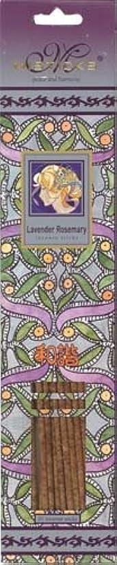 出撃者突然納屋Misticks ミスティックス Lavender Rosemary ラベンダーローズマリー お香 20本入