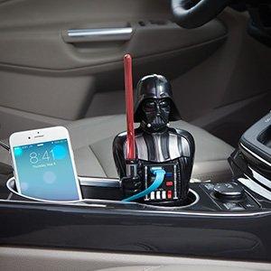 Star Wars Darth Vader USB Car Charger スターウォーズダースベイダー USB車の充電器 [並行輸入品]