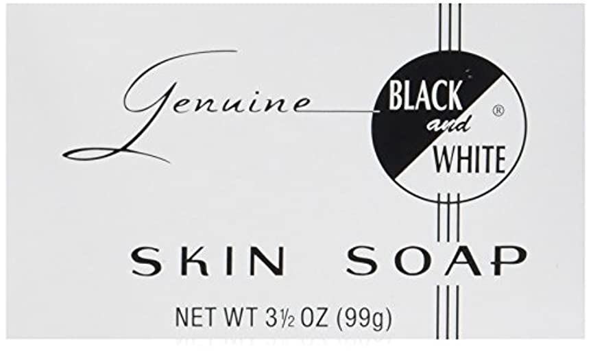 Black and White スキンソープ、3.5オンス 1パック