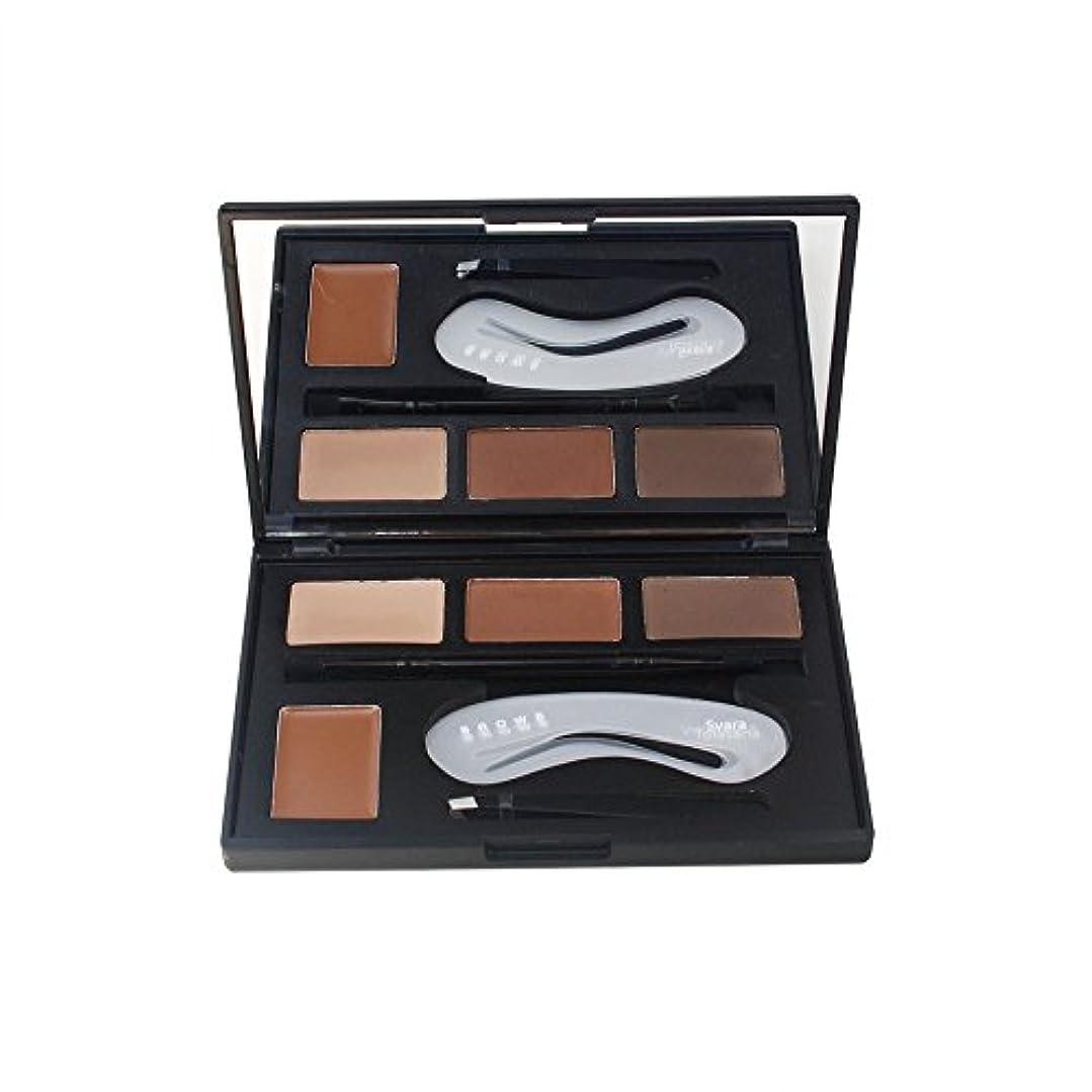 パッド申し込むバウンス4色のアイシャドウの眉毛の粉はパレット女性の美セットを構成します