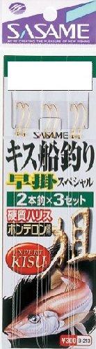 ささめ針(SASAME) B-213 キス船釣り早掛スペシャル 7号1