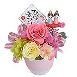 花由 プリザーブドフラワ パレット ひな祭りver マケプレプライム便