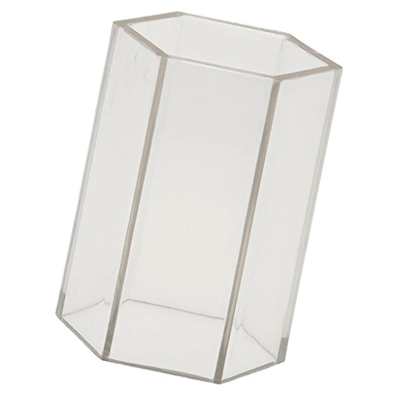 ノーブランド品 DIY キャンドルを作る 六角形 キャンドル金型 石鹸金型 全2サイズ選ぶ - 5x7.5cm