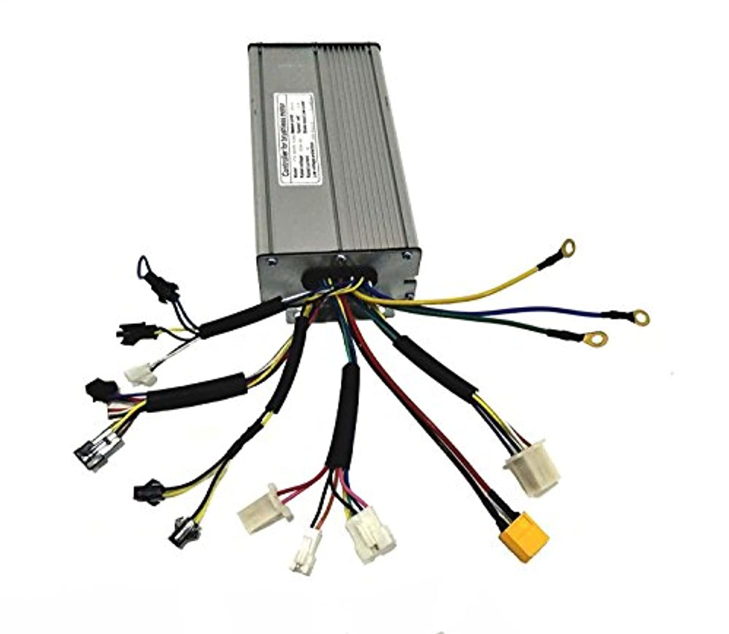 引き出し南西南西12 MOSFET 35AH Brushless DC Sine Wave Ebike Controller 36V1000W 48V1200W/48V1500W 電動自転車コントローラ