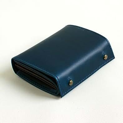 (エムピウ)m+ 二つ折り財布 millefoglie P25 ミッレフォッリエ2 P25 blue