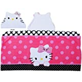Hello Kitty Dots J'Adore Hooded Towel Wrap by BLOSSOMZ [並行輸入品]