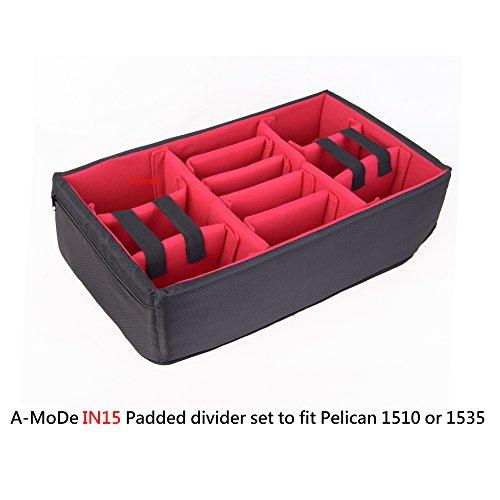 a-modeパッド入りDividerに設定フィットPelican peli 1510 HPRC 2550W Cases (ケースなし)
