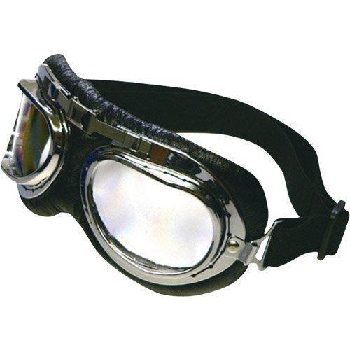 リード工業(LEAD) BARTON ビンテージゴーグル /クロームメッキ [角型レンズ ] PG-400A