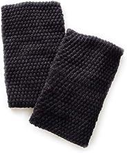 レッグウォーマー 蒸れずに暖かい 遠赤外線糸使用 二重編み シルク 冷えとり【日本製】