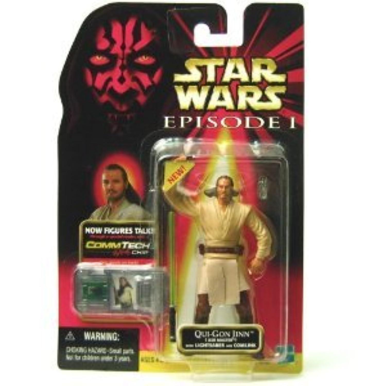 Star Wars (スターウォーズ) Qui-Gon Jinn Jedi (ジェダイ) Master w/Lightsaber and Comlink 84107(並行輸入)