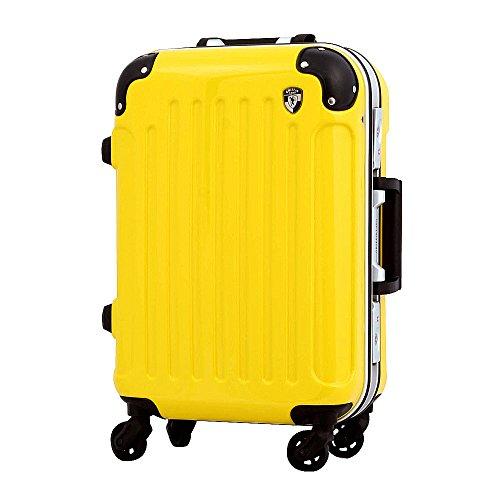 MINI レモンイエロー / PC7000-MINI 機内持ち込み可 TSAロック搭載 スーツケース キャリーバッグ キャリーケース フレーム開閉式