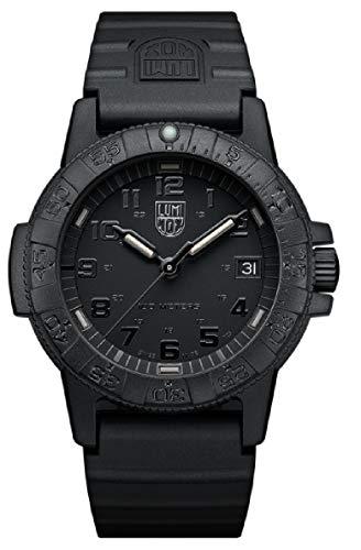 [ルミノックス]LUMINOX 腕時計 レザーバック シータートル 0300シリーズ ブラックアウト 0301.BO メンズ [並行輸入品]