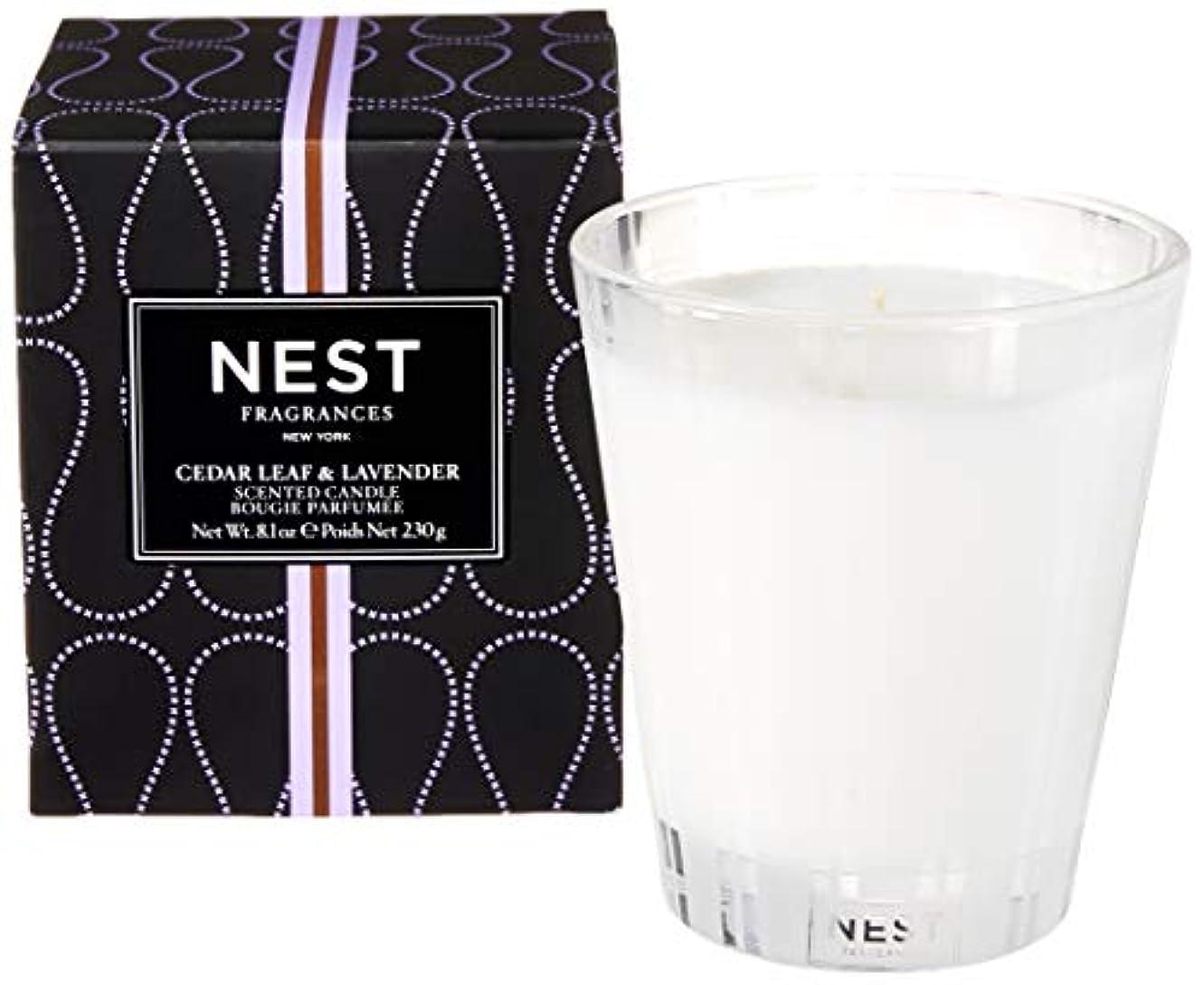 ドアミラー一貫したセンブランスネスト Scented Candle - Cedar Leaf & Lavender 230g/8.1oz並行輸入品