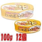 ニッスイ 缶詰 いわしみそ煮 100g 12個
