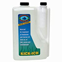 Ruby Reef ARR11122 Kick-Ich Aquarium Water Treatment, 2-Liter by Ruby Reef Inc
