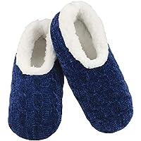 Slumbies! Womens Slippers - Slippers for Women - House Slippers for Women - Fuzzy Slippers - Furry Slippers for Women - Jeweltone Chenille
