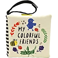 Wee Gallery Stroller Books: My Colorful Friends (Wee Gallery Cloth Books)
