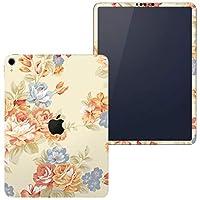 igsticker iPad Pro 11 inch インチ 対応 apple iPad Pro11 シール アップル アイパッド A1934 A1979 A1980 A2013 iPadPro11 全面スキンシール フル 背面 側面 正面 液晶 タブレットケース ステッカー タブレット 保護シール 人気 花 フラワー イエロー 水色 ピンク 007762