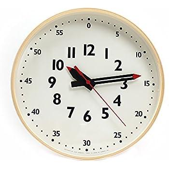 子供に時刻を教えやすい壁掛け時計 ふんぷんクロック