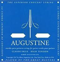 AUGUSTINE BLUE 2弦バラ弦単品×4本 クラシックギター弦 2弦のみのバラ弦です。