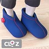 CLO.Z(クロッツ)やわらか湯たんぽ 足用ショートタイプ(底付き) ヘルメット潜水社製 Sサイズ/足のサイズ約24cmまで レッド