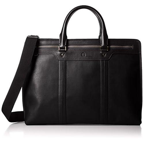 [タケオキクチ] ビジネスバッグ A4 ジゼルレザーII 185521 BLK クロ