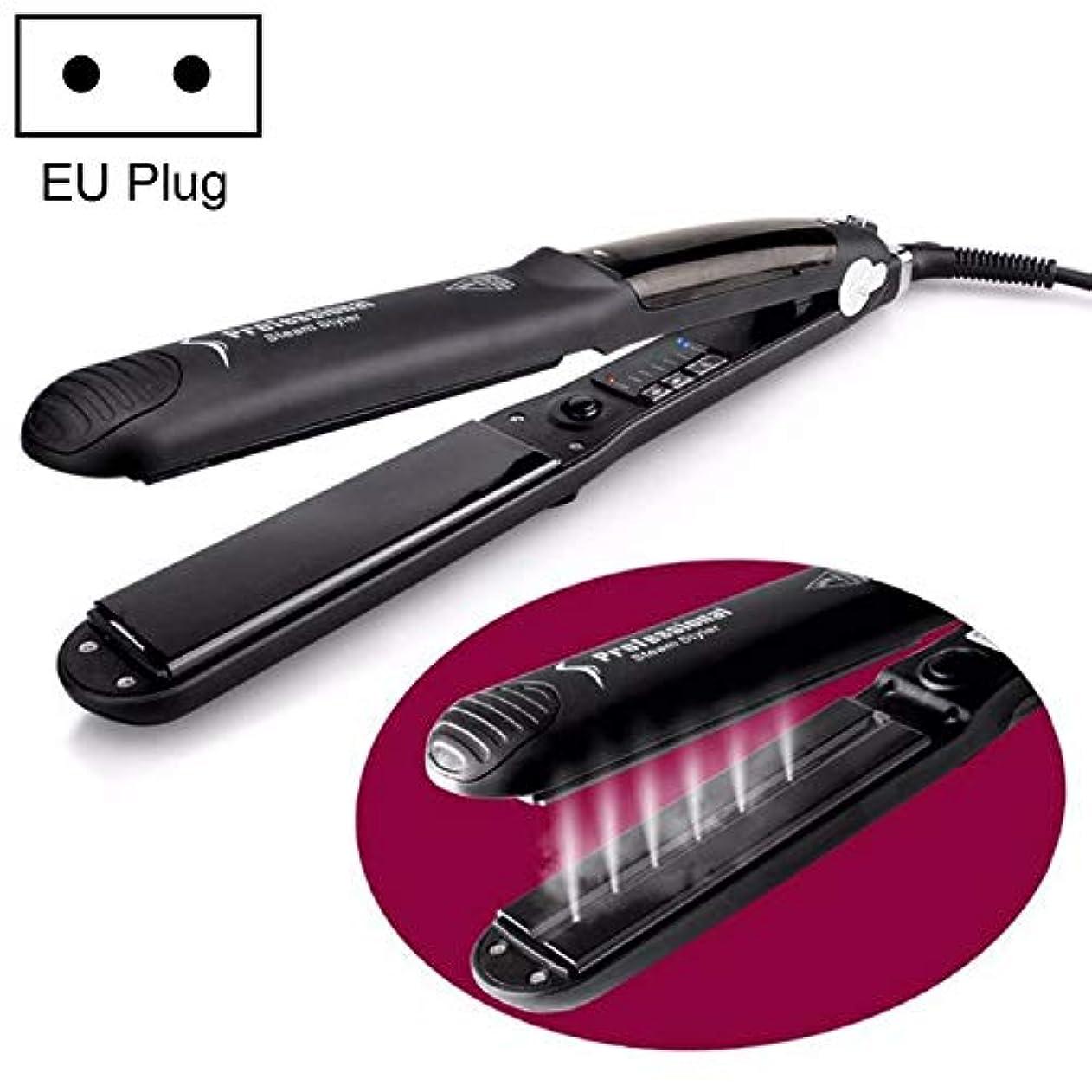 ナチュラルラップ分布WTYD 美容ヘアツール スチームスプレー電気スプリントヘアストレイトナープラスチックボトル、EUプラグ