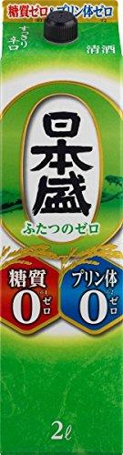日本盛 糖質ゼロプリン体ゼロ パック 2000ml