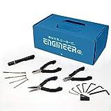 【Amazon.co.jp限定】エンジニア(ENGINEER) 手提げBOX入り工具セット(精密作業用) EB-01A 10個入