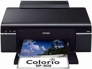 旧モデル エプソン Colorio インクジェットプリンター EP-302 6色染料インク