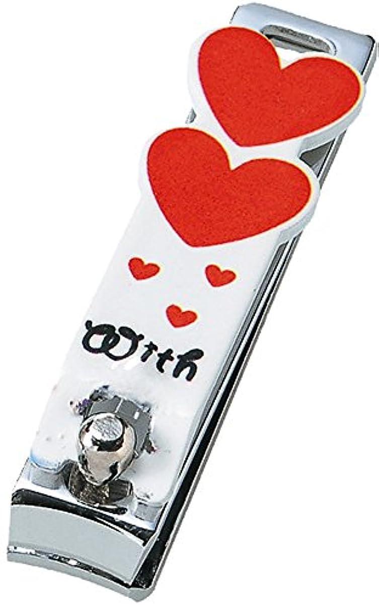 ドナウ川受益者第九ミニつめ切りセット (ストラップ付き透明ケース付き) ハート